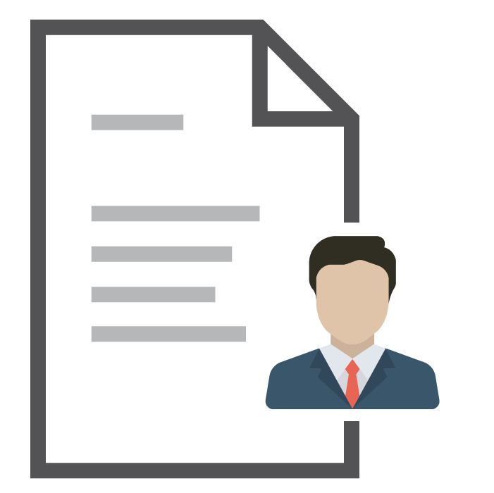 PDF Icon Business Man